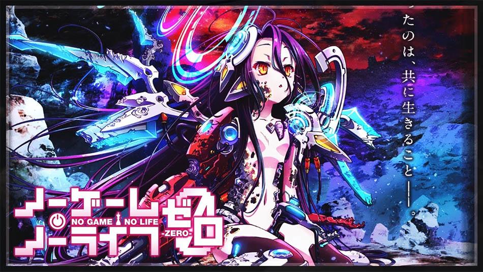Imagem sobre Novo vídeo promocional para No Game No Life -Zero- é revelado