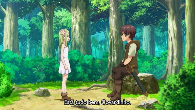 Comentando o episódio 8 de Ore dake Haireru Kakushi Dungeon cena 2