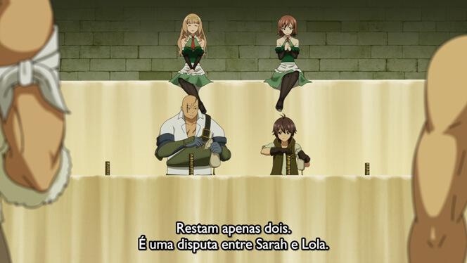 Comentando o episódio 8 de Ore dake Haireru Kakushi Dungeon cena 8