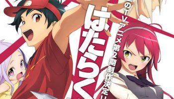 Imagem sobre Segunda temporada de Hataraku Maou-sama é anunciada