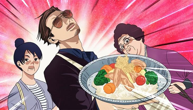 Cena do anime de Gokushufudou