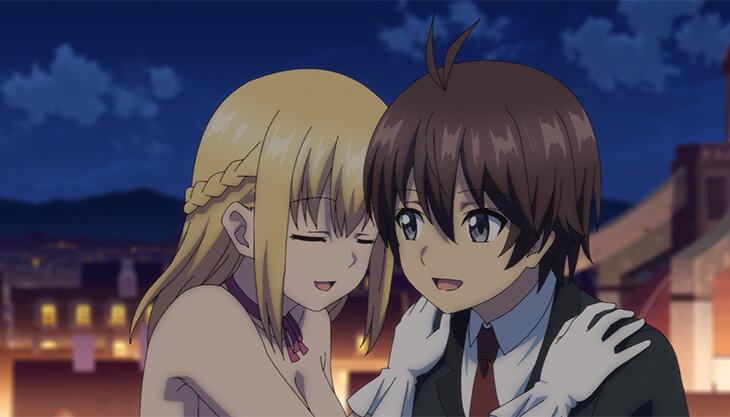 Cena do episódio 9 de Ore dake Haireru Kakushi Dungeon