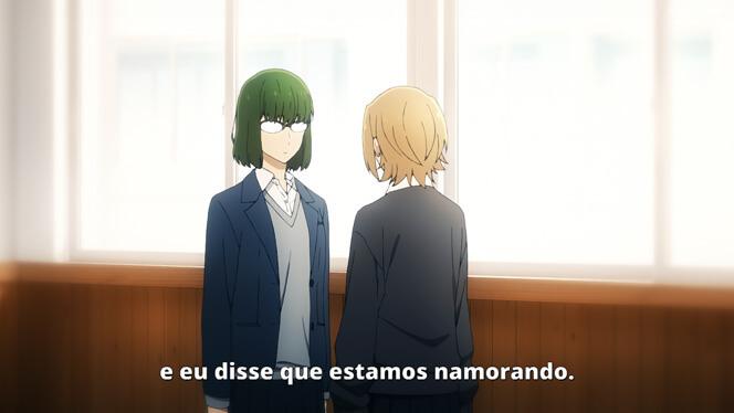 Comentando o episódio 10 de Horimiya cena 7