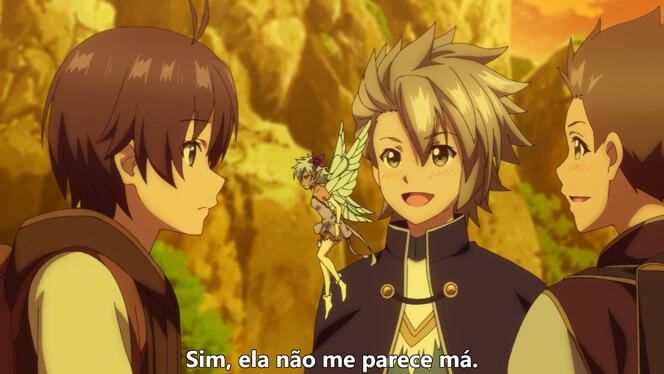 Comentando o episódio 10 de Ore dake Haireru Kakushi Dungeon cena 3