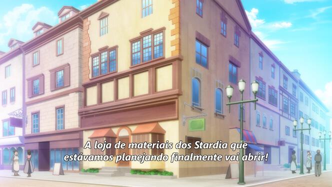 Comentando o episódio 11 de Ore dake Haireru Kakushi Dungeon cena 1