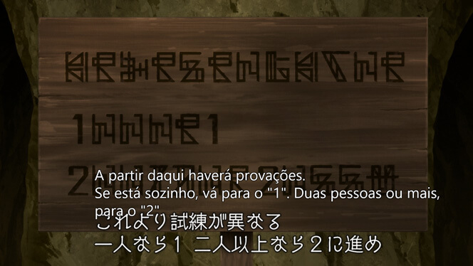 Comentando o episódio 11 de Ore dake Haireru Kakushi Dungeon cena 4