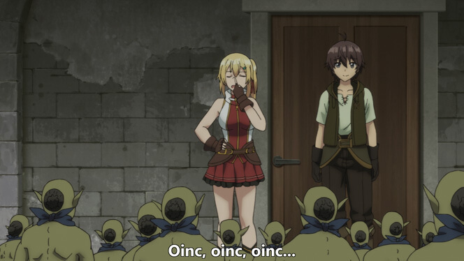Comentando o episódio 11 de Ore dake Haireru Kakushi Dungeon cena 6