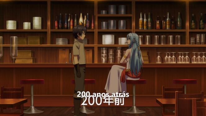 Comentando o episódio 12 de Ore dake Haireru Kakushi Dungeon cena 1