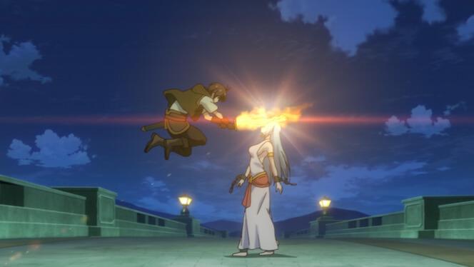 Comentando o episódio 12 de Ore dake Haireru Kakushi Dungeon cena 11