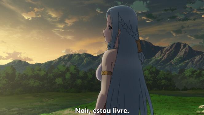 Comentando o episódio 12 de Ore dake Haireru Kakushi Dungeon cena 13
