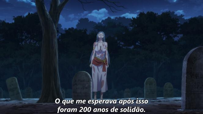 Comentando o episódio 12 de Ore dake Haireru Kakushi Dungeon cena 5