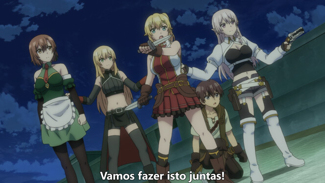 Comentando o episódio 12 de Ore dake Haireru Kakushi Dungeon cena 7