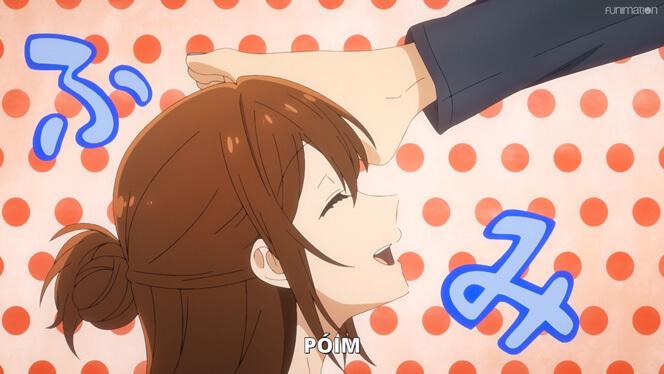 Comentando o episódio 8 de Horimiya cena 5